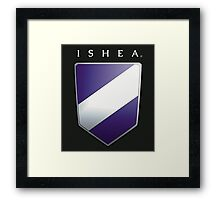 Ishean Coat of Arms Framed Print
