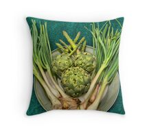 The Joy of Eating Green's.  Throw Pillow