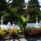 Garden Fountain by ctheworld