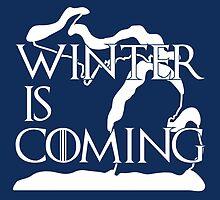 Winter is Coming (MI) by uncmfrtbleyeti