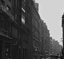 Morning rush, Paris 2014 by Duncan Cunningham