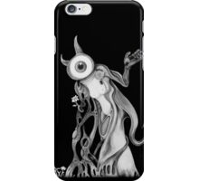 September black and white iPhone Case/Skin