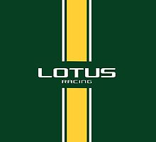 Lotus Racing yellow and green stripes by ApexFibers