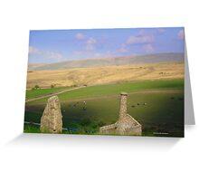 Dartmoor Mine Greeting Card