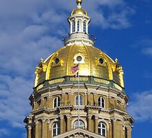 Iowa State Capitol by lorilee
