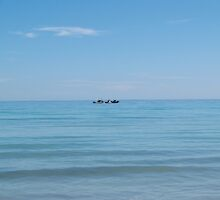 Tunisian sea by Margotte