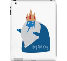 Cool Guy iPad Case/Skin