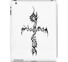 The Black Thorn Cross iPad Case/Skin