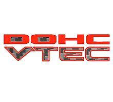 Carbon Fibre DOHC VTEC Honda by fadouli