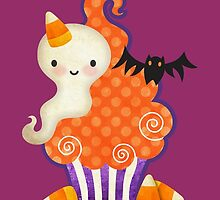 Halloween Cupcake by prettycritters
