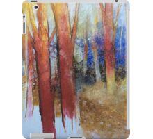 Alla fine dell'estate il bosco diventa più bello iPad Case/Skin