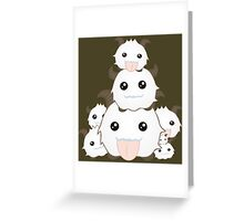 Poro Party - League of Legends Greeting Card