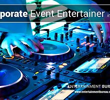 Professional Corporate Event Entertainer in Sydney by EntertainBureau