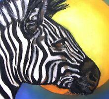 Zebra by Mariaan M Krog Fine Art Portfolio