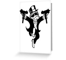 Grand theft monopoly Greeting Card