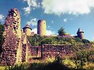 The Nürburg Castle by Benedikt Amrhein