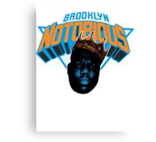 Brooklyn Notorious Canvas Print