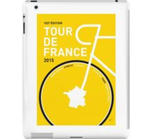 MY TOUR DE FRANCE MINIMAL POSTER 2015 iPad Case/Skin