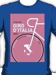 My Giro d'italia Minimal poster T-Shirt