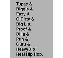 Best rappers Photographic Print