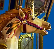 On A Carousel by Al Bourassa