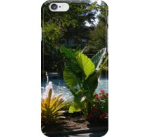 Garden Fountain iPhone Case/Skin