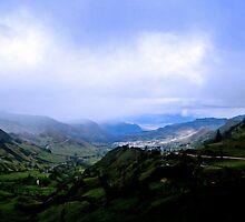 Yunguilla Valley, Ecuador by Al Bourassa