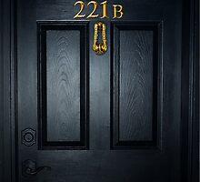 Sherlock 221b Door by SaraduJour
