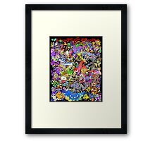 151 POKEMON Framed Print
