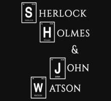 Sherlock Holmes & John Watson by consultingcat