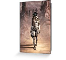 Steampunk Painting 004 Greeting Card