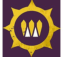 Destiny Queens Wrath Emblem Photographic Print