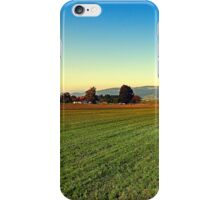 Autumn afternoon in the countryside | landscape photography iPhone Case/Skin