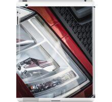 Large truck details against blue sky iPad Case/Skin