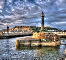 Whitby Harbour on the North Yorkshire Coast by © Steve H Clark Photography
