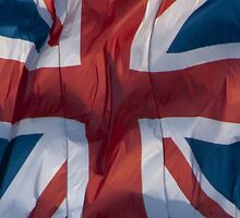 Waving Flag of the United Kingdom From 2014 Winter Olympics by pjwuebker