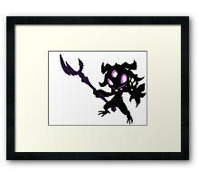 Void Fizz - League of Legends - Black Framed Print