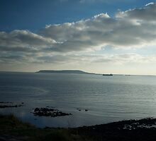 Photography of an island off the coast of south england by Vujovich44