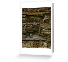 Power in the Ruin Greeting Card