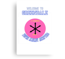 Welcome To Greendale! Canvas Print