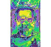 Neon Horror: Hannibal  Photographic Print