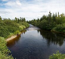 photography of a river in nova scotia by Vujovich44