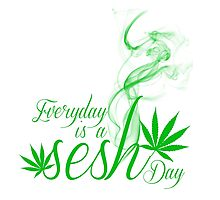 Everyday is a Sesh day Photographic Print