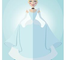 Symmetrical Princesses: Cinderella by Jennifer Mark