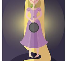 Symmetrical Princesses: Rapunzel by Jennifer Mark