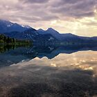 Dusk on Lake Kochel by Kasia-D
