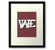 Vape Framed Print
