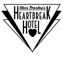 Elvis Presley's Heartbreak Hotel Photographic Print