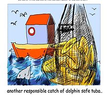 Dolphin-Safe Tuba  by Rick  London