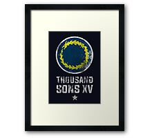 Thousand Sons XV - Warhammer Framed Print